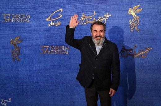 سیامک انصاری بازیگر فیلم زهر مار در سیوهفتمین جشنواره فیلم فجر