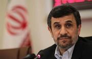 ژست همیشگی احمدینژاد در مقابل دوربین/ عکس