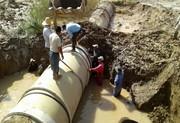 ترمیم شکستگی خط اصلی انتقال آب بندرامام/ آب شهر وصل شد