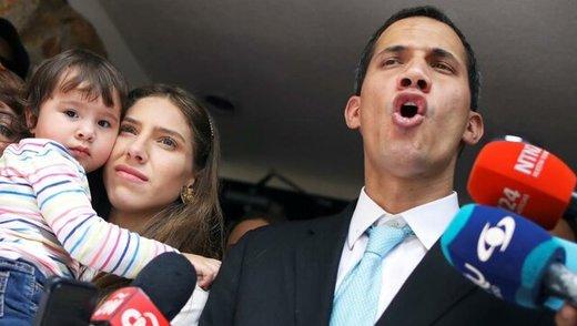 درخواست گوآیدو از چین درباره مادورو