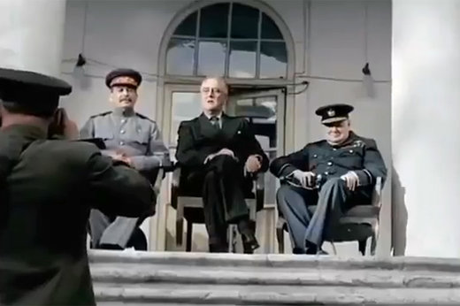 فیلم   از بالاشهرنشینی وزیری که اهل جوادیه بود تا حضور چرچیل و استالین در تهران