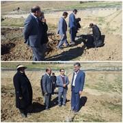 آغاز عملیات چالهکنی اراضی شیبدار در راستای توسعه باغات دیم خرمآباد