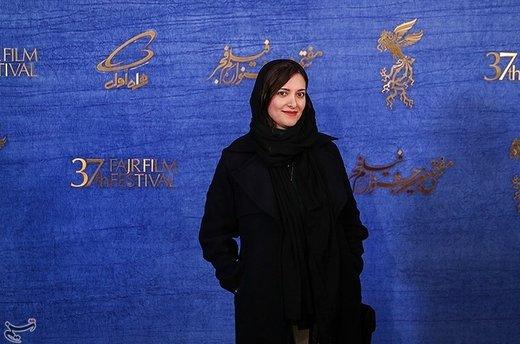 یلدا جبلی کارگردان فیلم جمشیدیه در سیوهفتمین جشنواره فیلم فجر