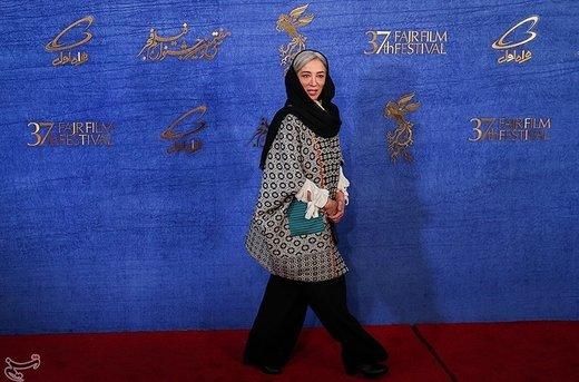 پانتهآ پناهیها بازیگر فیلم جمشیدیه در سیوهفتمین جشنواره فیلم فجر