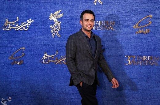 حامد کمیلی بازیگر فیلم جمشیدیه در سیوهفتمین جشنواره فیلم فجر