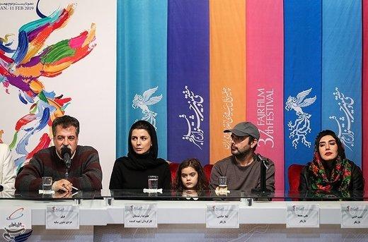 نشست خبری فیلم مردی بدون سایه - سیوهفتمین جشنواره فیلم فجر