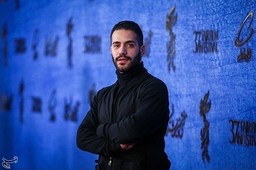 محمد ولیزادگان بازیگر فیلم جمشیدیه در ششمین روز سیوهفتمین جشنواره فیلم فجر
