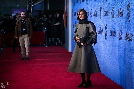 سارا بهرامی بازیگر فیلم جمشیدیه در ششمین روز سیوهفتمین جشنواره فیلم فجر