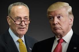 ترامپ و شومر دوباره به جان هم افتادند