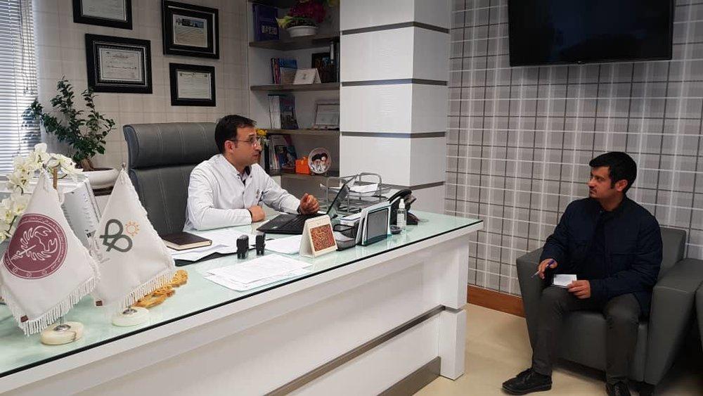 بیمارستان امید - دکتر بهزاد سینایی
