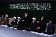 تصاویر | اولین شب عزاداری فاطمیه در حسینیه امام خمینی(ره)