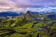 عکس کارت پستالی نشنال جئوگرافیک از ارتفاعات ایسلند