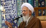 آیتالله جوادیآملی: باران نمیتواند کشور نجسشده با استعمار را پاک کند/ نجاست استعمار در ایران با خون شهدا تطهیر شد
