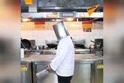 فیلم | نمایش دیدنی یک آشپز با کارد و ساطور