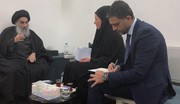 السيستاني يرفض أن يكون العراق محطة لتوجيه الأذى لبلد آخر