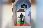 فیلم | راهروی امنیتی هوشمند در فرودگاه دبی