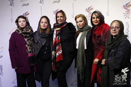 تصاویر | مهناز افشار و محسن تنابنده در پردیس سینمایی چارسو