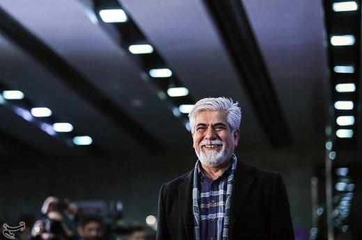حسین پاکدل بازیگر فیلم «دیدن این فیلم جرم است» در سیوهفتمین جشنواره فیلم فجر