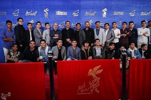 عوامل فیلم «۲۳ نفر» در سیوهفتمین جشنواره فیلم فجر