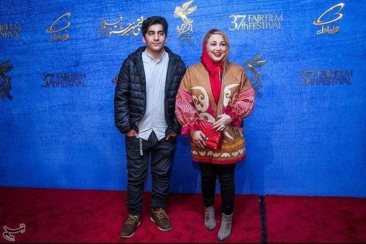 بهنوش بختیاری در هفتمین روز سیوهفتمین جشنواره فیلم فجر