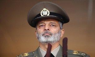 نقطه قوت و کلیدی پدافند هوایی ایران از زبان فرمانده کل ارتش /رصد شبانه روزی آسمان کشور