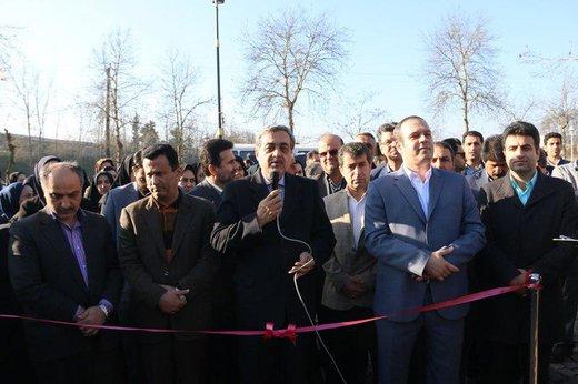 پارک بانوان لاهیجان توسط فرماندار و مدیریت شهری افتتاح شد/ تصاویر
