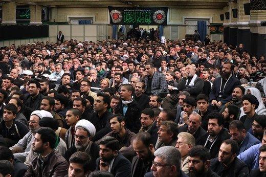 دومین شب عزاداری فاطمیه ۱۴۴۰ در حسینیه امام خمینی(ره)