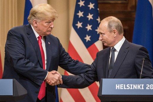 نیویورک تایمز: ترامپ دست نشانده پوتین است