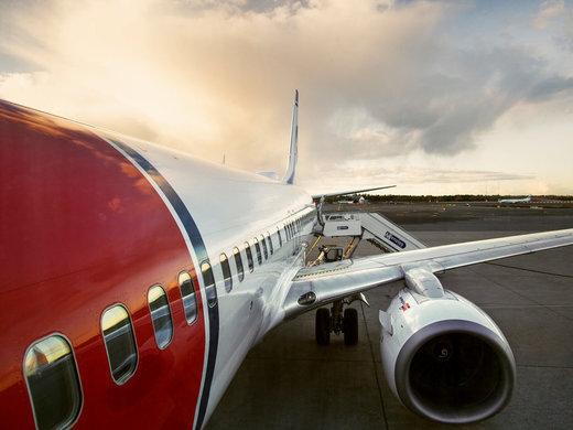 هواپیمای نروژی به دلیل تهدید بمبگذاری تخلیه شد