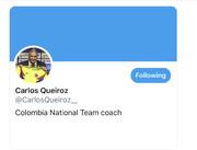 کارلوس کیروش شبکه اجتماعی خود برای ارتباط با کلمبیاییها را انتخاب کرد!