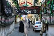تصاویر | حال و هوای تهران در ایام فاطمیه