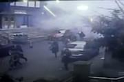 فیلم   لحظه ریزش مرگبار ساختمان ۸ طبقه در استانبول