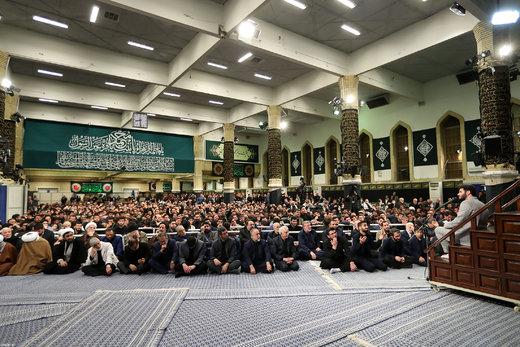 سومین شب عزاداری فاطمیه ۱۴۴۰ در حسینیه امام خمینی(ره)