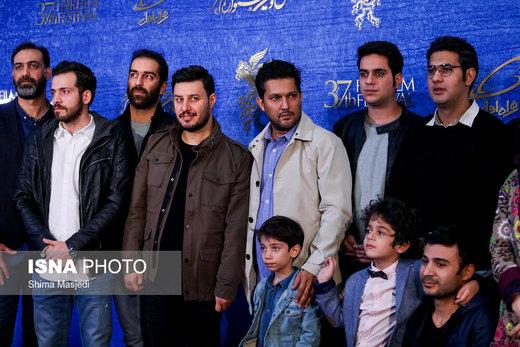 عوامل فیلم «جان دار» در نهمین روز سیوهفتمین جشنواره فیلم فجر