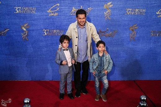 حامد بهداد بازیگر فیلم «جاندار» در سیوهفتمین جشنواره فیلم فجر