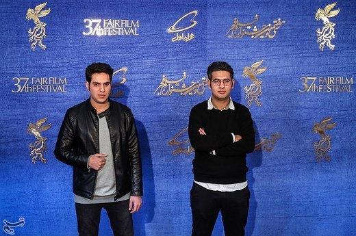 حسین امیری دوماری و پدرام پورامیری کارگردانان فیلم «جاندار» در سیوهفتمین جشنواره فیلم فجر