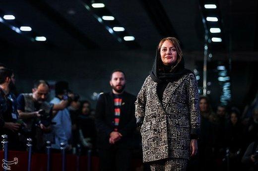 مهناز افشار بازیگر فیلم «قسم» در سیوهفتمین جشنواره فیلم فجر