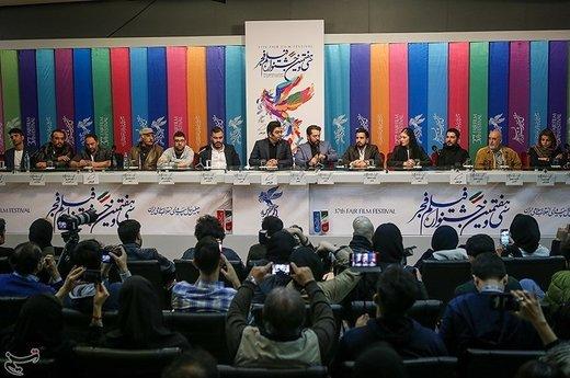 نشست خبری فیلم سونامی به کارگردانی میلاد صدرعاملی