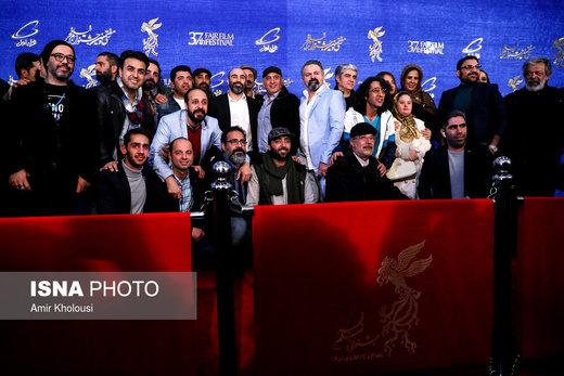 عوامل فیلم «قسم» در نهمین روز سیوهفتمین جشنواره فیلم فجر