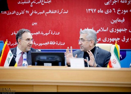 Iran to reconstruct Iraq power industry