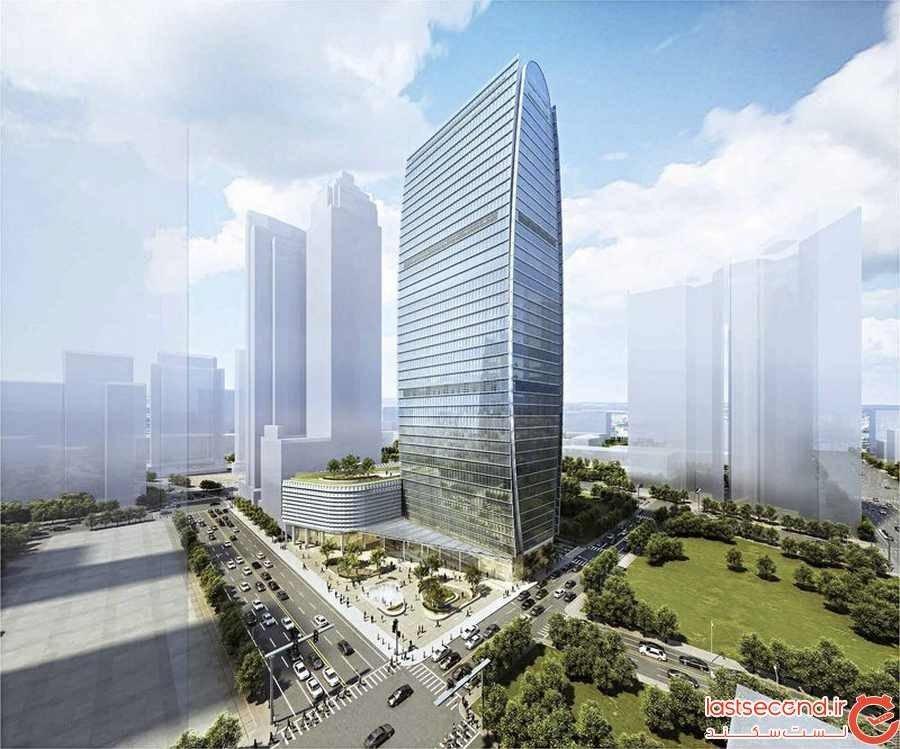 برج مالی مرکزی در مانیل