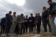 کلنگزنی آغاز ساخت پاسگاه محیطبانی چهار شاخ گرین دلفان