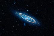 کهکشان آندرومِدا ۴.۵ میلیارد سال دیگر به کهکشان ما میخورد