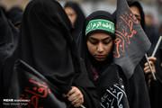 تصاویر | عزادارای زنان شهر ری در روز شهادت حضرت فاطمه(س)