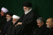 تصاویر | عزاداری شام شهادت حضرت زهرا(س) با حضور رهبرانقلاب و مقامات سیاسی کشور