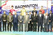 بیست و هشتمین مسابقات بینالمللی بدمینتون با حضور استاندار به پایان رسید