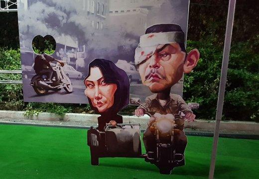 از شهاب حسینی تا مهران مدیری/ جلوهای تازه از ستارههای سینما در شهرک غرب/ عکس