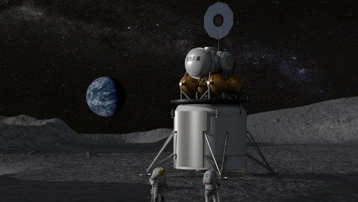 ناسا سال آینده به ماه برمیگردد