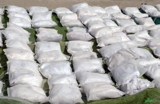 Over 1.5 tons of narcotics seized in SE Iran