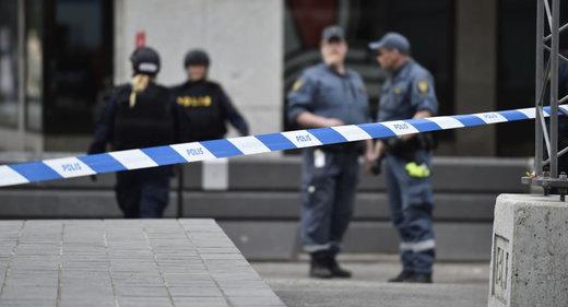 انفجار بمب در استکهلم جان یک تن را گرفت